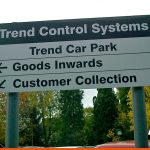 Commercial Permises Car Park Signage on Posts