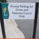 Private Parking sign on posts | BEL Signs