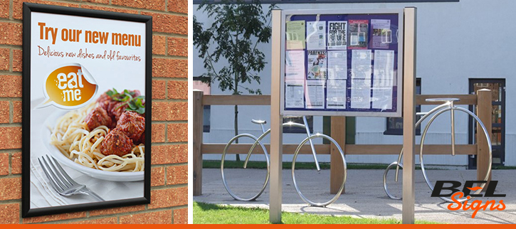 BEL Signs Notice Boards and Poster Frame Product