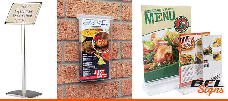 Menu and leaflet dispensers