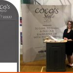 CoCos Hair - Pavement Sign and Exhibition Stand | Billingshurst