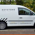SWB Van Graphics for Haywards Heath based company | BEL Signs
