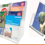 Leaflet stands or brochure displays, we can offer a range of solutions