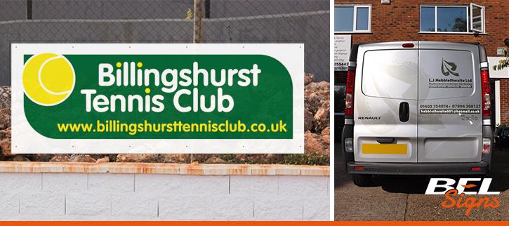 Signage Company Billingshurst
