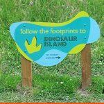 Shaped wayfinding signage | Southwater Park | BEL Signs