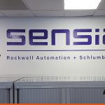 Large lettering for business offices