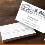Double sided business cards for local business | Horsham Printing