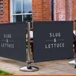 Printed Cafe Banners for Pubs | Promotional Pavement Signage