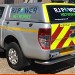 Reflective Stripes add to Ford Ranger graphics | Chapter 8 kit