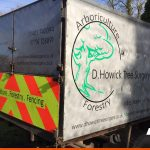 Vehicle graphics for D Howick Tree Surgery