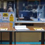 Reception area protective barriers | RSPCA Offices