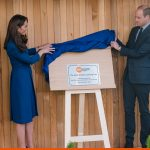 Stainless Steel Plaque for Centrepoint UK at Royal unveiling