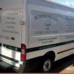 Rusper Village Stores Transit Van