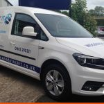 VW Caddy for Woodstock IT services | Van Signage