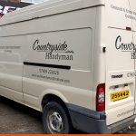 Basic van graphics for Countryside Handyman