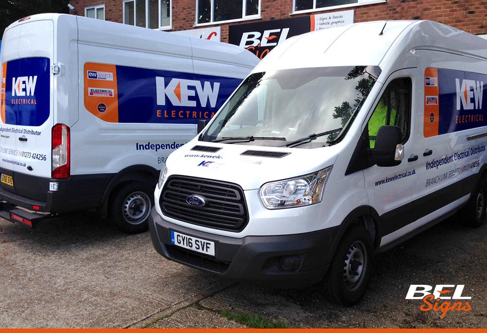 Vehicle Graphics Van Graphics Bel Signs Horsham