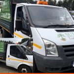 We cover Ford Transit Tippers, panels and bonnet | BEL Signs