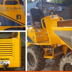 Plant Machinery stickers, any vehicle can be branded | Mannings Heath