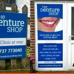 Worthing Denture Shop Signage