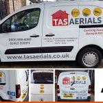 Logo icons on all sides | Peugeot Partner Decals | Horsham West Sussex