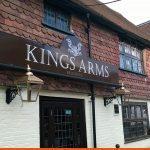 Signage for Kings Arm Pub | BEL Signs