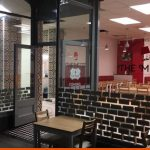 Tile shaped and logo window graphics | BEL Signs