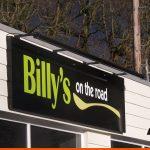 Box Tray Sign for Billy's | Sign Company Horsham