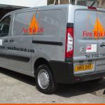 Fire Risk Citroen Dispatch | Vehicle Signwriting Horsham