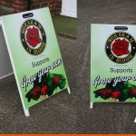A-Boards for Horsham in Bloom