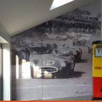 Digitally Printed Wallpaper for an interior wall