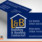 Printed business cards | BEL Signs Horsham