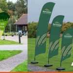 Outdoor Flags can be a variety of sizes