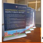 Desktop mini roll-up banners ideal for tables  BEL Signs