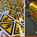 Health and Safety Stickers | BEL Signs