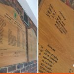 Wooden Honours Boards for Horsham Rugby Club