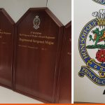 Shaped Honous Boards for local regiment