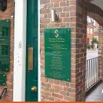 Dental directories on entrances | BEL Signs