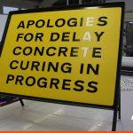Road side sign in frame | BEL Signs