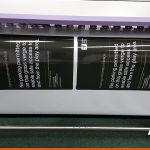 Large format printed parking posters