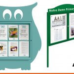 Notice boards for schools with shapes or header boards