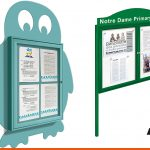 Notice boards with header boards or shaped can be bespoke
