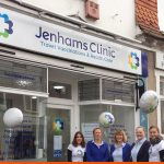 Shop Front and window graphics for Dorking Clinic | BEL Signs