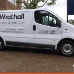 Van Signwriting for Haywards Heath Carpentry