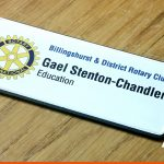 Printed name badges | BEL Signs