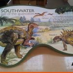 Southwater Park Dinosaur signs, informative and educational