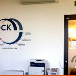 Corporate logo as Wall Graphics