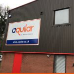 Exterior Signage including installation | Aquilar | BEL Signs