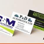 Various printed business cards for our clients | BEL Signs and Print
