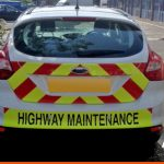 Chapter 8 to the rear of FORD Focus for Highway Maintenance
