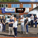 The Bedford Engraving Limited or BEL Signs Team